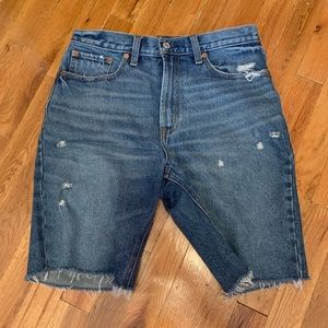 Abercrombie and Fitch men's denim shorts